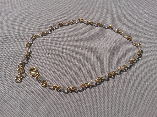 Cute anklet crystal